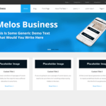 Melos Business Wordpress Theme