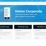 Melos Corporate Wordpress Theme