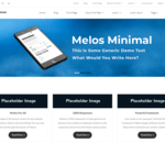Melos Minimal Wordpress Theme