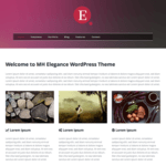 MH Elegance lite WordPress Theme