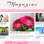 MH FeminineMag WordPress Theme