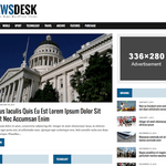 MH Newsdesk lite Wordpress Theme
