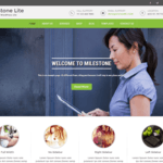 Milestone lite WordPress Theme