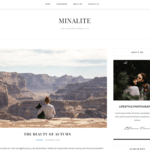 MinaLite Wordpress Theme