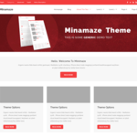 Minamaze eMagazine WordPress Theme