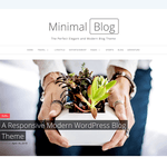 Minimal Blog Wordpress Theme