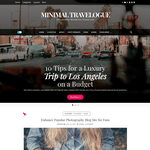 Minimal Travelogue Wordpress Theme