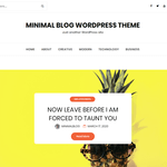 minimalblog Wordpress Theme