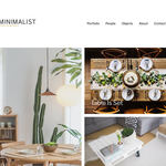 Minimalist Portfolio Wordpress Theme