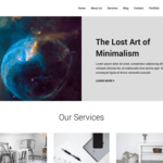 Mins Wordpress Theme
