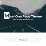 Mise Wordpress Theme