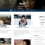 Miteri Wordpress Theme