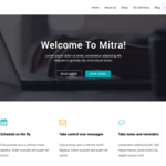 Mitra Wordpress Theme