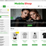 Mobile Shop Wordpress Theme
