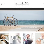 Mocktail Wordpress Theme