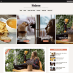 Moderne Wordpress Theme