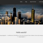 moxasa Wordpress Theme