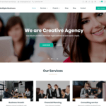 Multiple Business Wordpress Theme