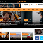 Multipurpose Magazine Wordpress Theme