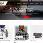 Multipurpose Shop Wordpress Theme