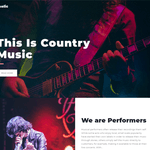 Musicaholic WordPress Theme