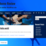 Musik WordPress Theme