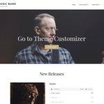 My Music Band Wordpress Theme