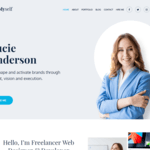 Myself Wordpress Theme