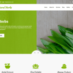Natural Herbs Lite Wordpress Theme