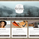 Natural Lite Wordpress Theme