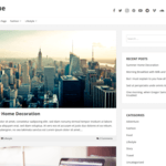 NEBlue Wordpress Theme