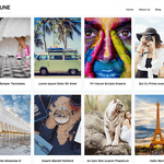 Neptune Portfolio Wordpress Theme