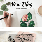 New Blog Wordpress Theme