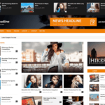 News Headline Wordpress Theme