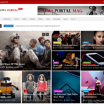 News Portal Mag Wordpress Theme