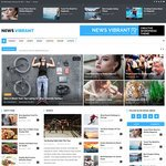 News Vibrant Wordpress Theme