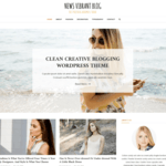 News Vibrant Blog WordPress Theme