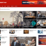 News Vibrant Plus Wordpress Theme