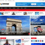 Newseqo WordPress Theme
