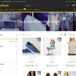 NewShop eCommerce WordPress Theme