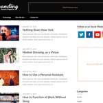 Newsly Magazine Wordpress Theme