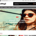 NewsMagZ Wordpress Theme