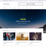 Newsmandu Magazine WordPress Theme