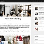 Newspaperist Wordpress Theme