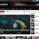NewsQuare Wordpress Theme
