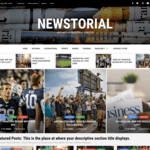 Newstorial Wordpress Theme