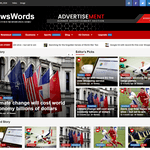 NewsWords Wordpress Theme