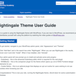 Nightingale WordPress Theme