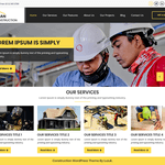 Nirman Construction Wordpress Theme