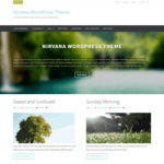 Nirvana Wordpress Theme